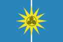 The flag of Christie Island